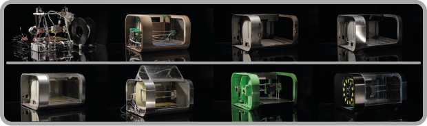 Prototype parts are vital to the design process, Robox® makes this much easier.