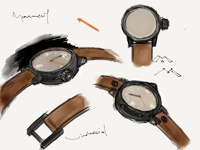 (doodles on iPad, Paper / circa 2011)