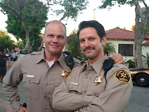 "Ingo Neuhaus and Brandon Hillock as Deputy Sacks in ""Veronica Mars"""