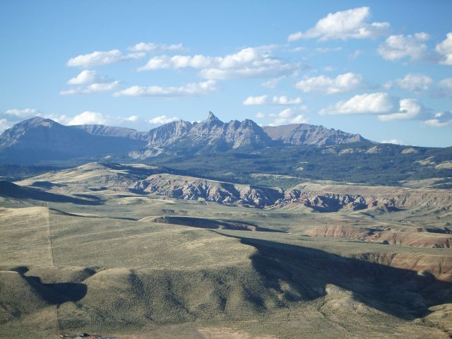 The view around the Turtle Ranch in Dubois, Wyoming