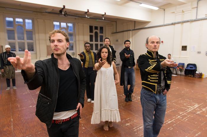 ANTONY & CLEOPATRA, Rehearsal