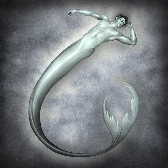 Merman Drawing
