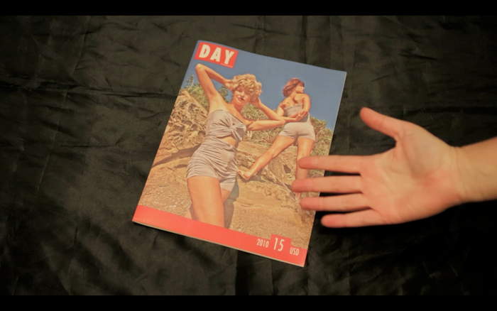 """DAY Magazine, 16 pages, 8 x 10"""", 2010"""