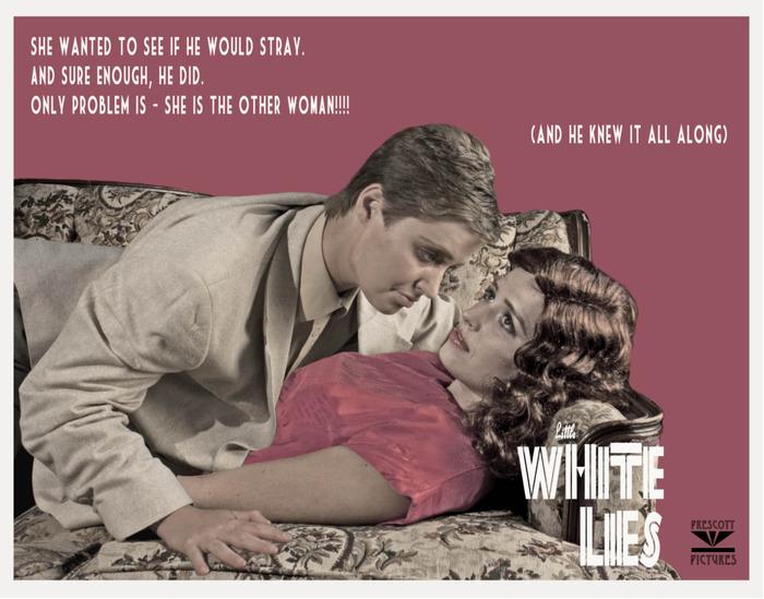 Little White Lies Lobby Card, 1951 (2013)