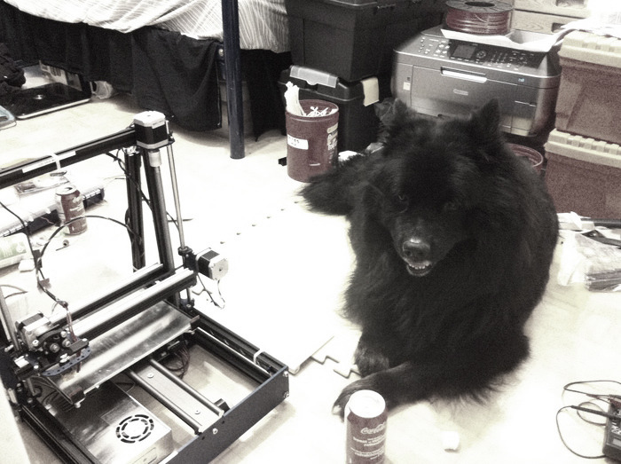Atos watching PetBot come alive, one piece at a time!