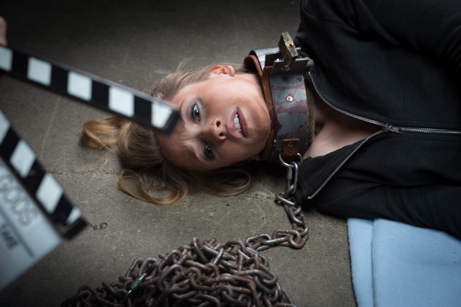 There was some amazing talent too - Above, Emily Tennant (Jennifer's Body).