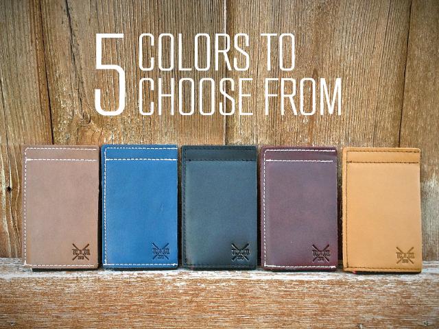 5 handsome color ways: Brown, Blue, Black, Burgundy, and Camel.
