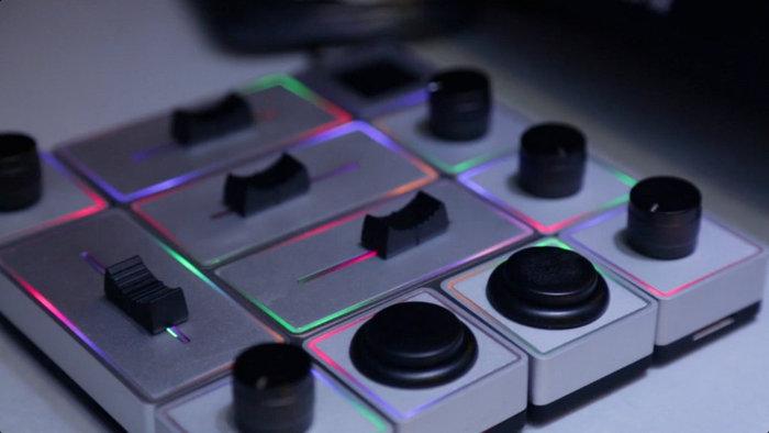 Palette designed by a DJ