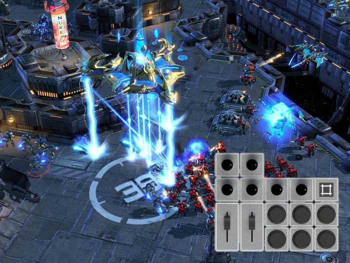Design a Palette that helps you crush your enemy in Starcraft!