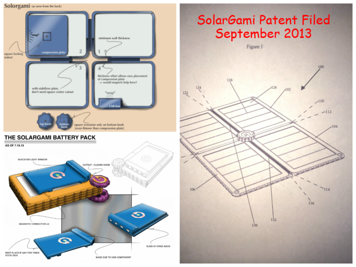 Refining the Overall Layout and Battery Case Design - Filing Our Patent