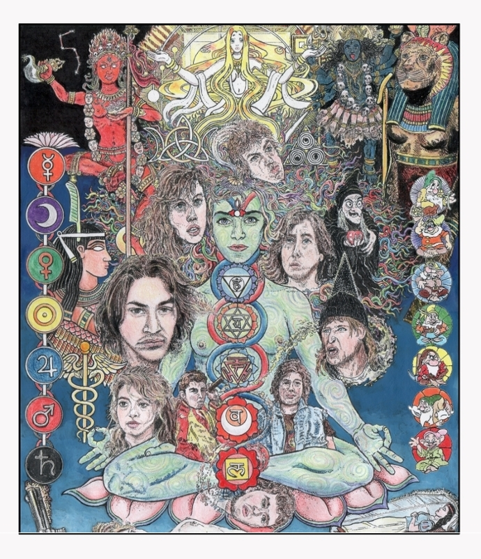 The Pic from Chapter 6 - Snow White, River's Edge and the Seven Chakras ... (print option # 6.)