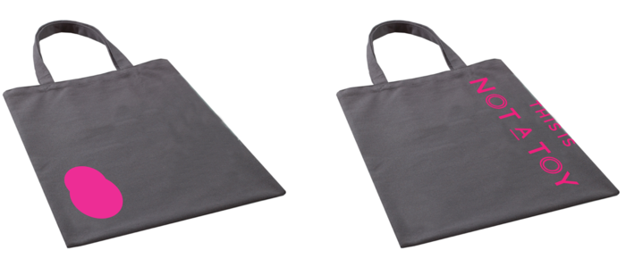 TINAT tote by Blok Design (specify grey or natural)