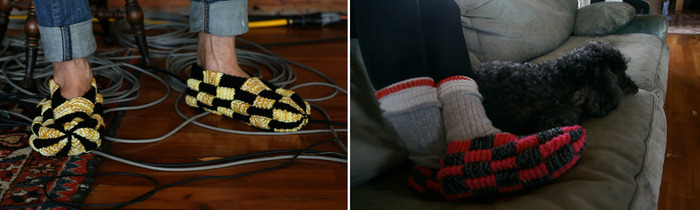 Slippers, as seen in the movie!
