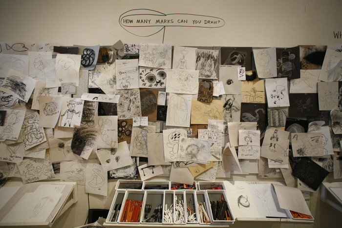 The Drawing Lab Drawing Wall