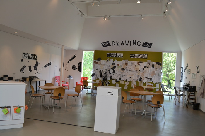 The Drawing Lab at the deCordova Museum