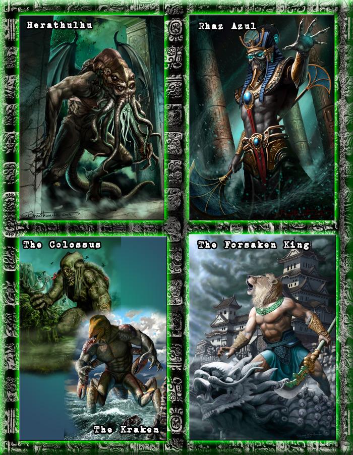 Boss Monster Artwork For The Adventure Scripts- See Stories Below!