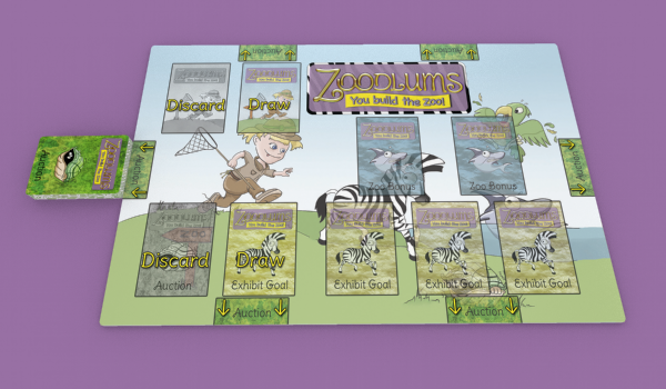 Playmat at PLAYER or KIT AND CABOODLE level