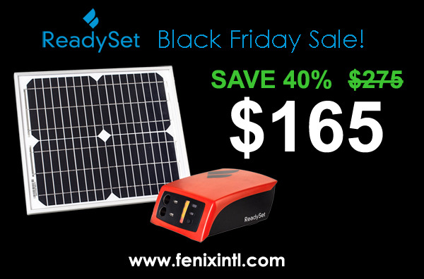 ReadySet Black Friday Sale