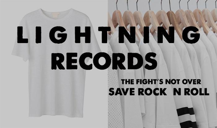 Lightning Save Rock n Roll T Shirt