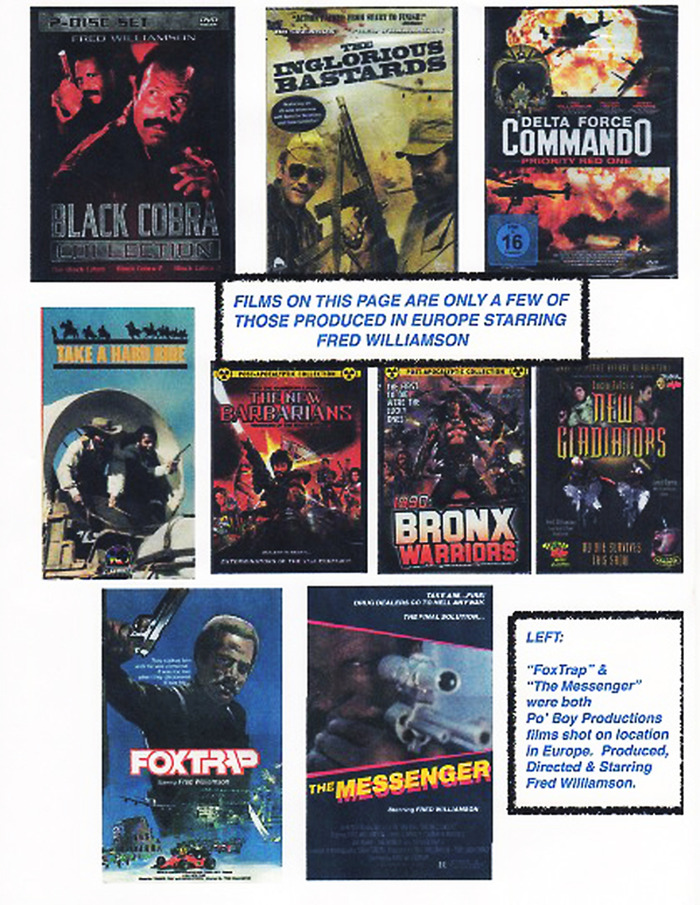 Click the picture for Fred Williamson's list of Internet Movie Database credits.