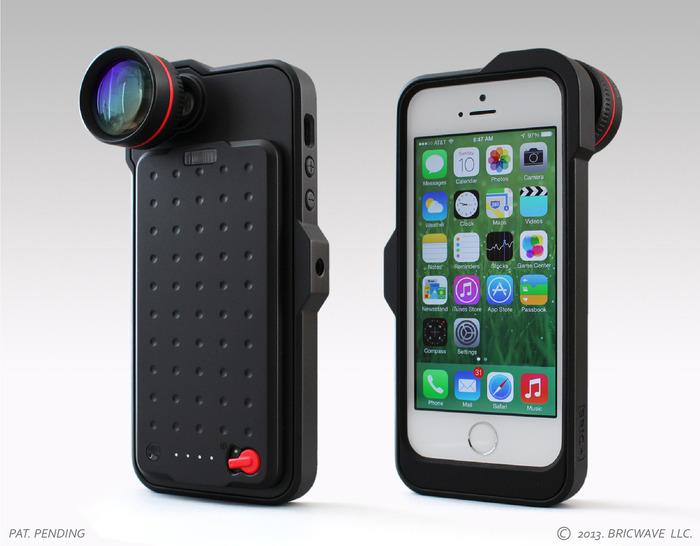 * MODEL: [BRIC+] 2450mAh Power Case with 3.5X Optical Lens Final Working Prototype   Black/Black