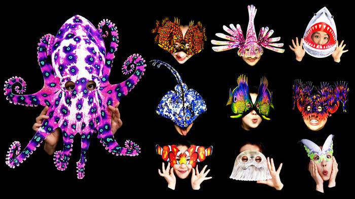 Sea Dreams mask set