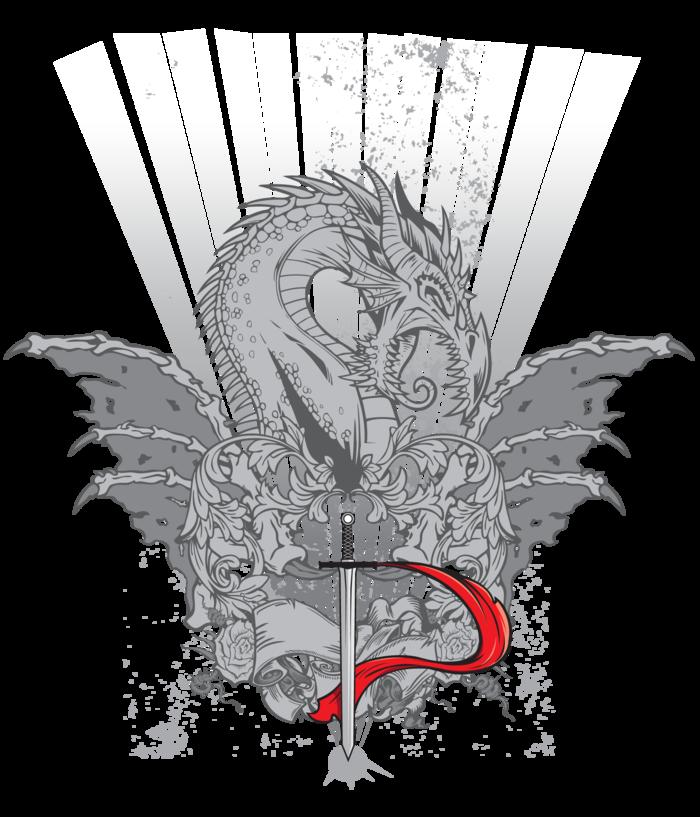 The official Durandal t-shirt design (front).