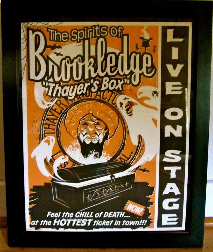 Brookledge Spookshow 2011 - Thayer's Box