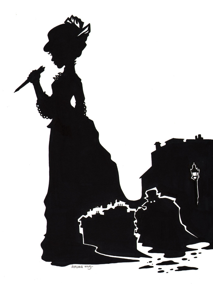 Illustration by Autumn Frederickson for Athena's Daughters