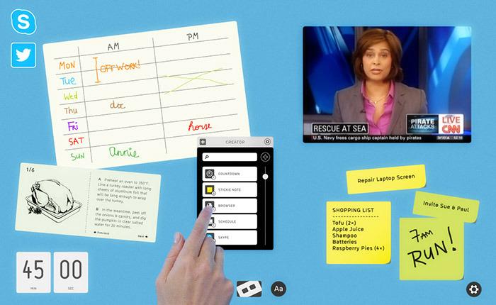 dizmo: enabler of true multitasking environments