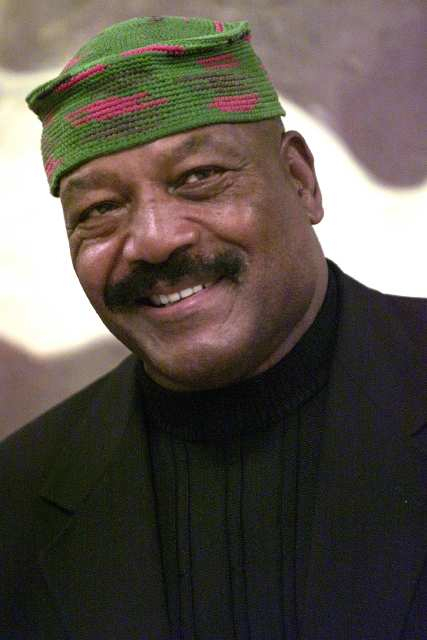 "Jim Brown (The Dirty Dozen, Any Given Sunday, Mars Attacks!) as ""J.B."""
