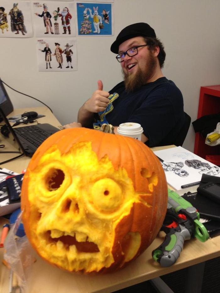 We take pumpkins really seriously.