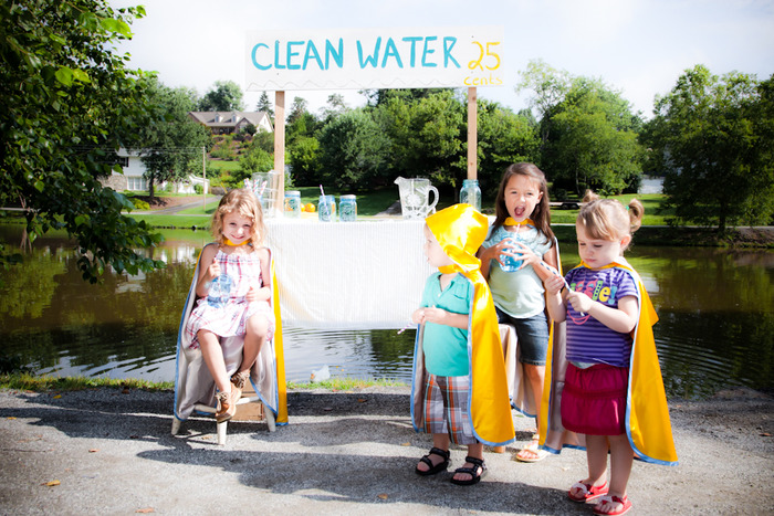 helping to provide clean and accessible water!