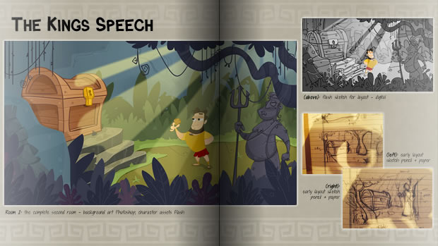 An early look at the art book - click to see a larger version!
