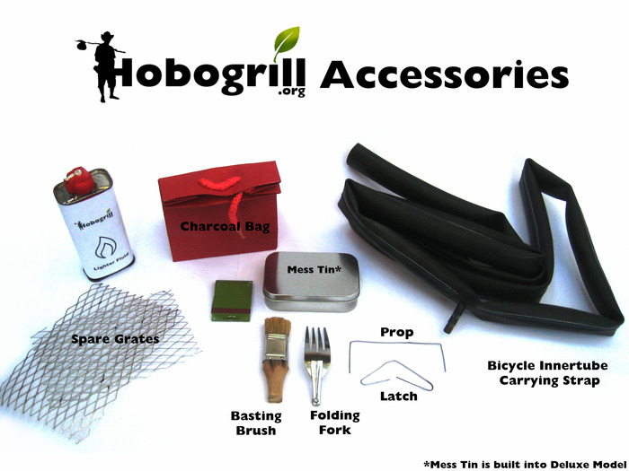Hobogrill HG2-Deluxe Accessory Prototypes