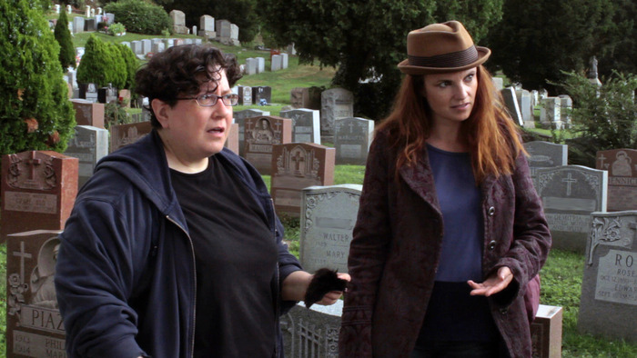 Margaret (Lisa Haas) and Jo (Jackie Monahan) get more than they bargained for.