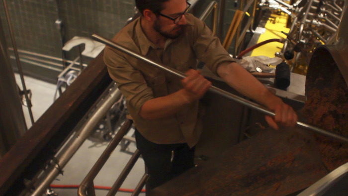 Brewing what will become Workhorse Rye at ThirstyBear Organic Brewery in San Francisco