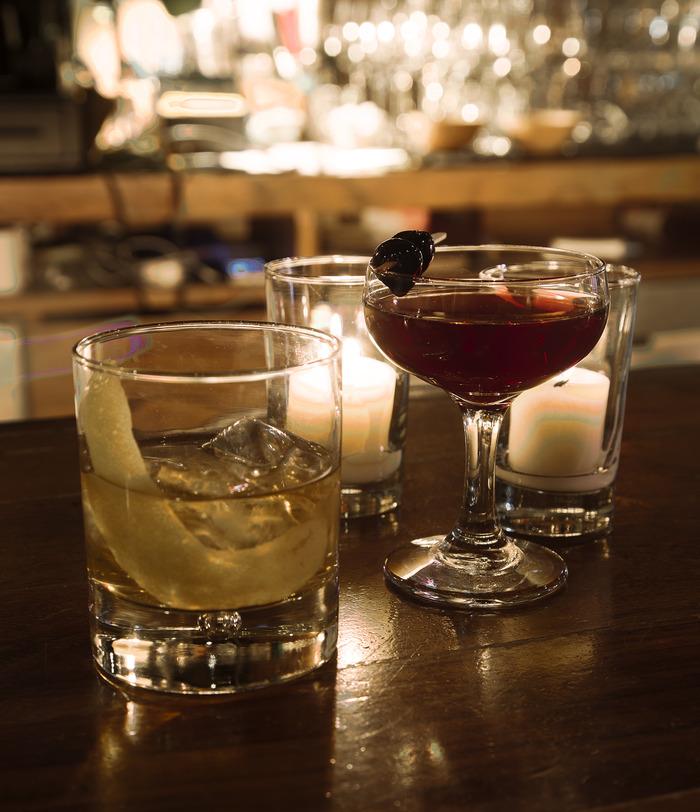 Palehorse and Darkhorse cocktails.