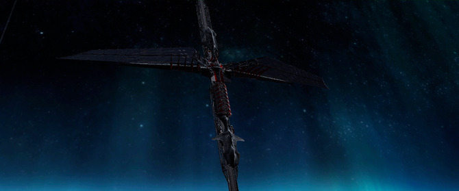 later previsualization of elevator in flight