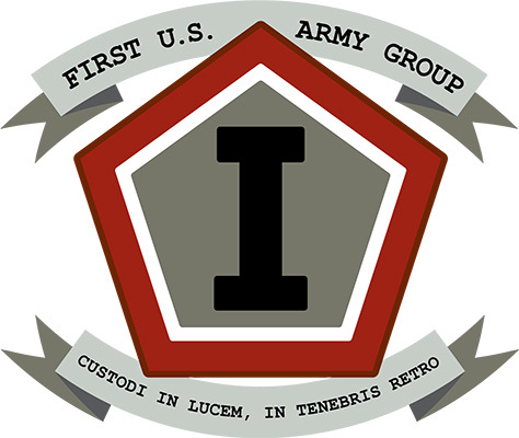 The First U.S. Army Group patch!