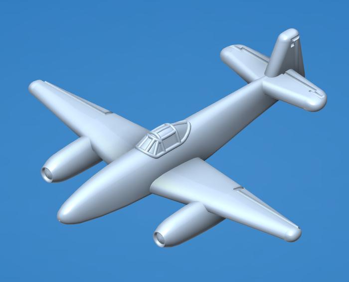 Japanese J8N-1 Kikka Jet fighter