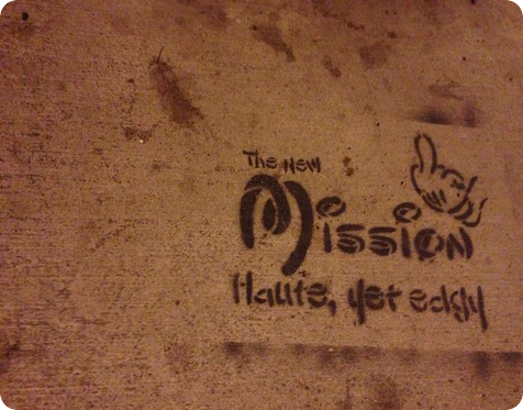 Street art in the Mission.