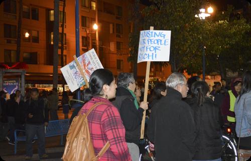 OUR Mission: Candle Light Vigil Against Displacement