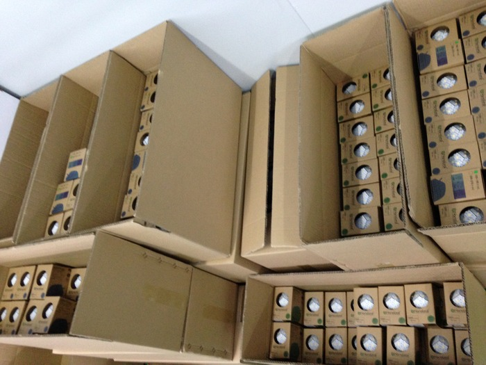 More Nanoleaf bulbs shipping out to their forever homes!