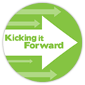 We're part of 'Kicking It Forward', an incentive to reinvest a portion of our profit in new Kickstarter projects.