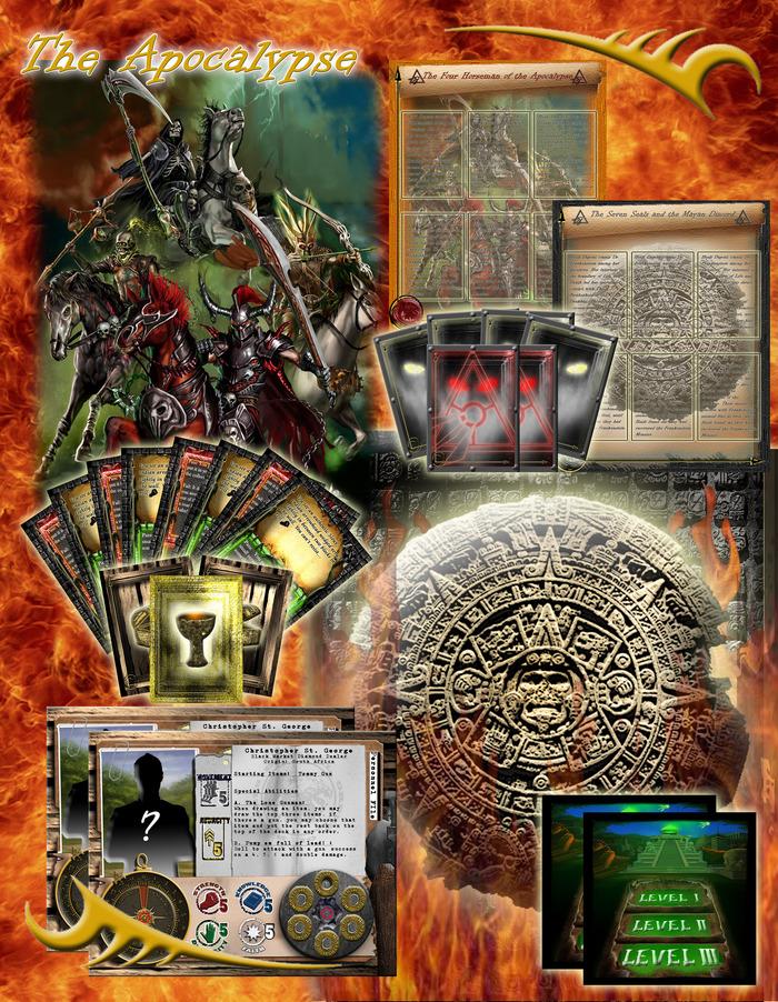 ***See Large 4 Horsemen Individual Artwork Below! Keep on Scrolling***