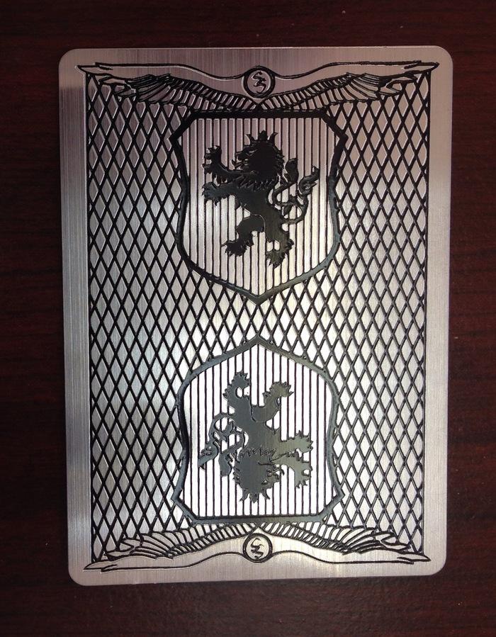 ACTUAL CARD