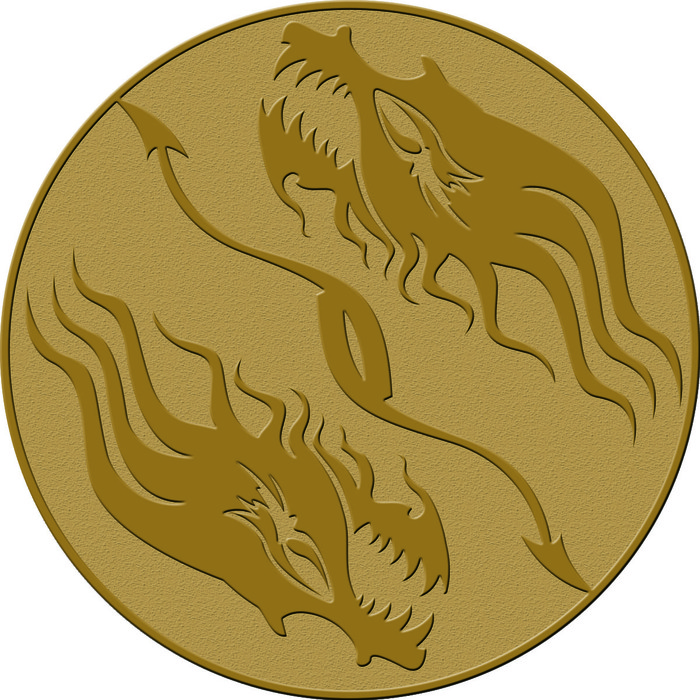 Dragon Seal - Anyone standing on this space is safe from offensive item cards and stealing