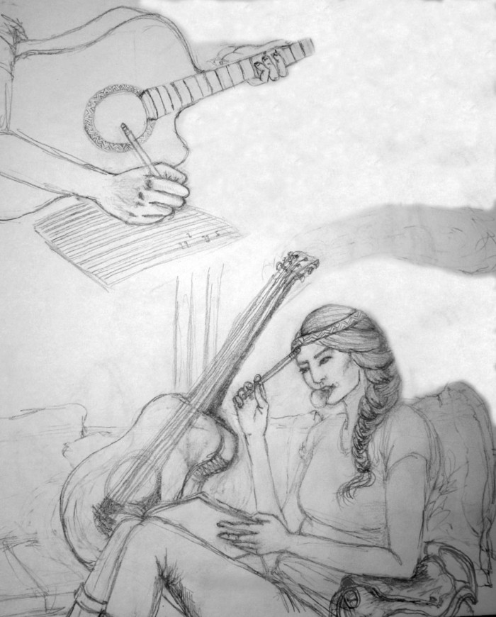 The Musician - Concept 2 w/ hands