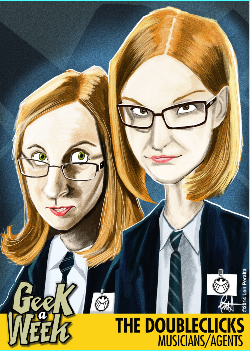 A closer look at the new Geek A Week card fronts!